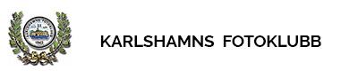 Karlshamns Fotoklubb Logo